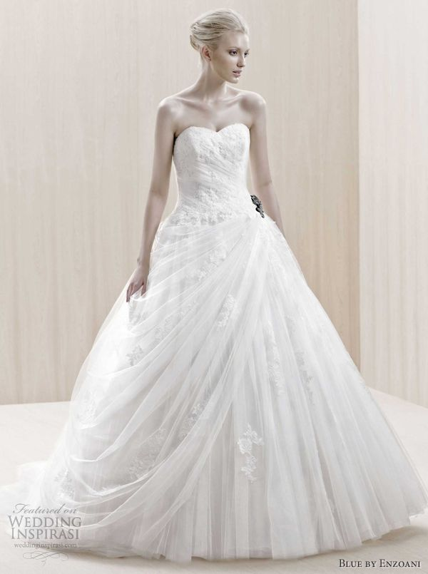 Blue by Enzoani 2012 bridal collection