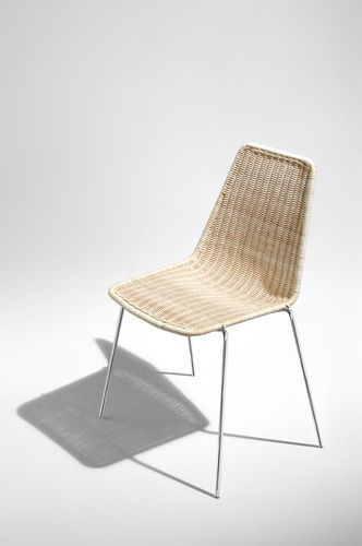 Sedie E Tavoli Da Giardino In Vimini.Contemporary Stacking Chair Sin Horm Sedia Vimini Sedia Rattan