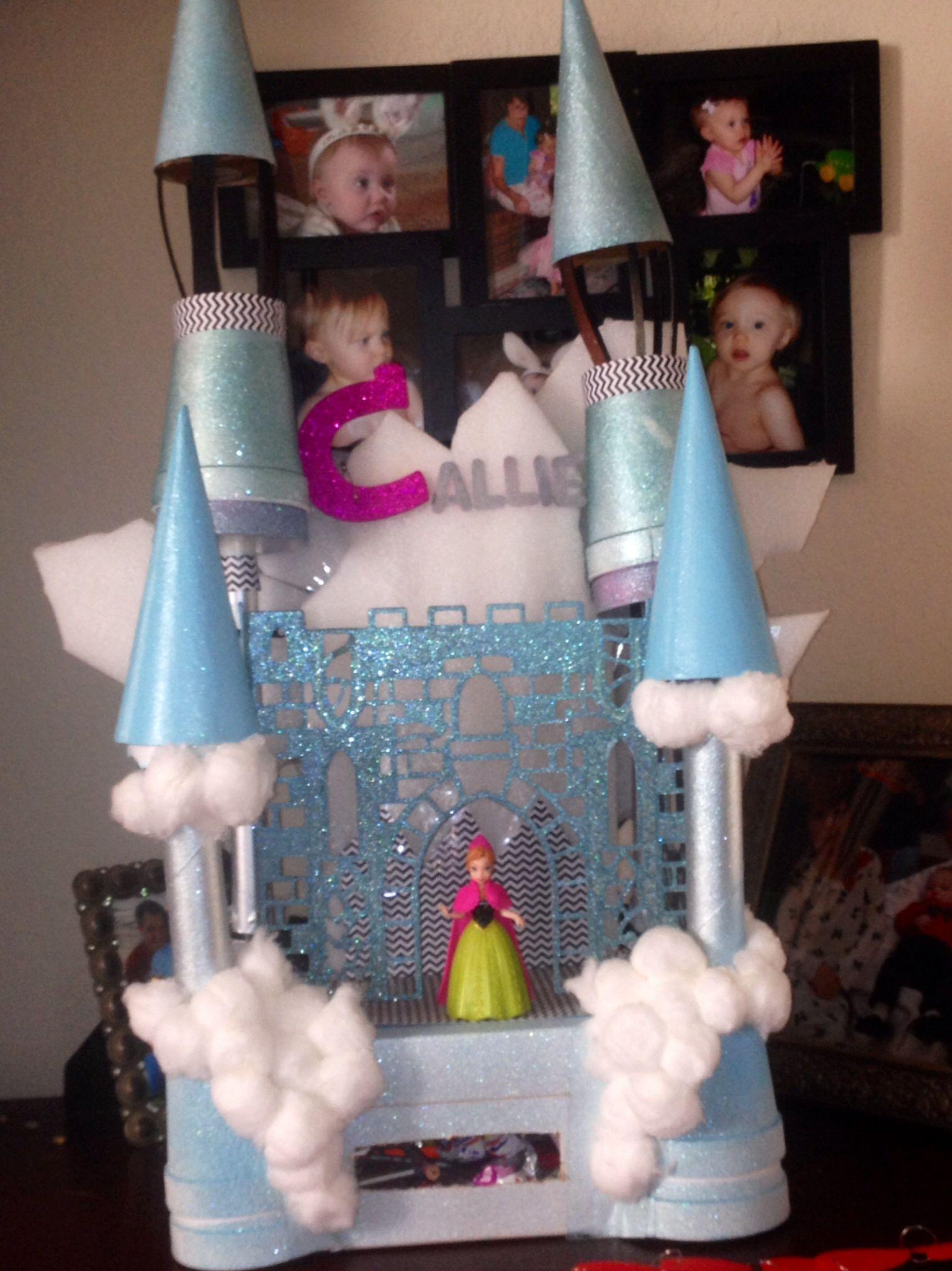 Disney S Frozen Castle Valentine Box Valentine Box
