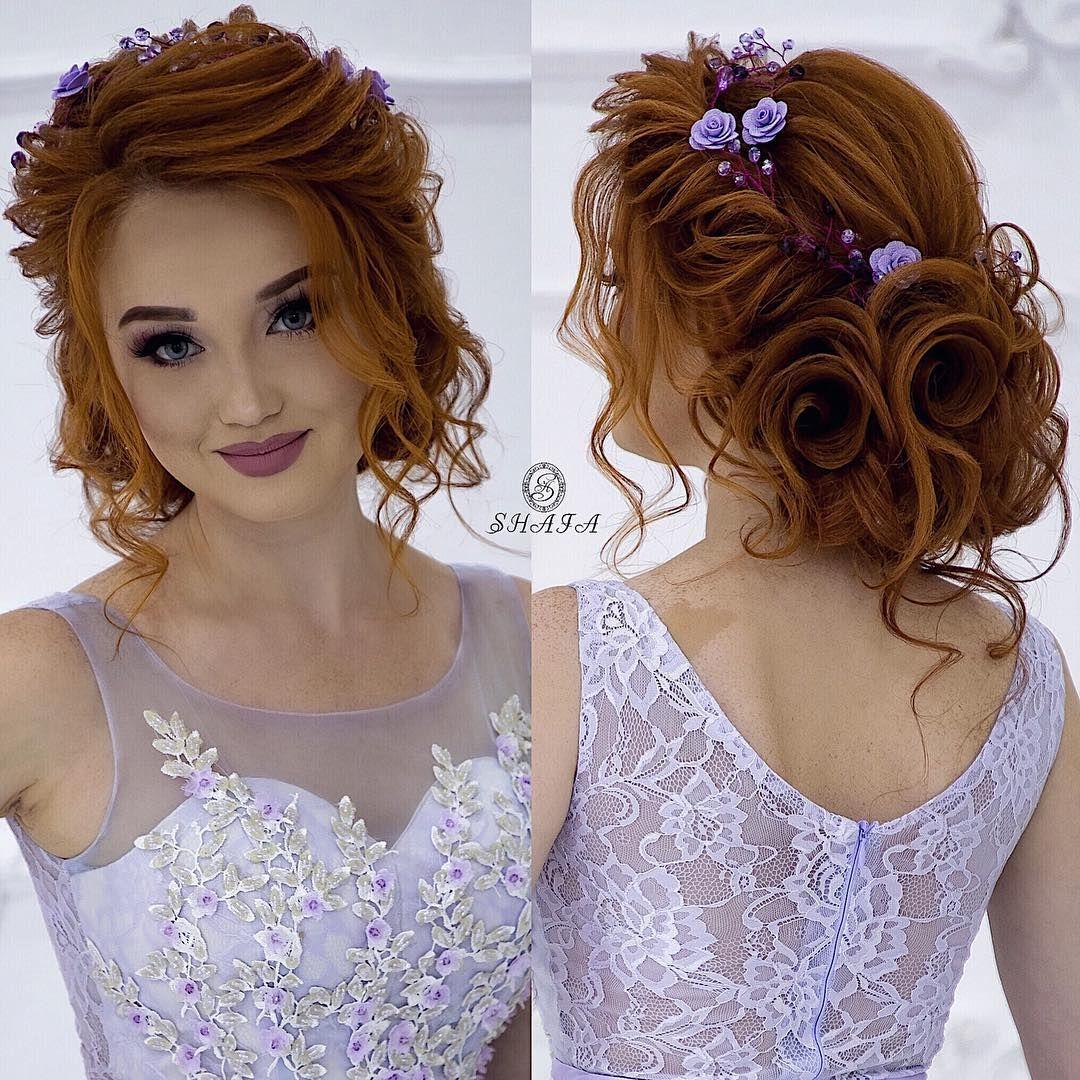 51 Romantic Wedding Hairstyles: Instagram'da Shafaq Novruzova