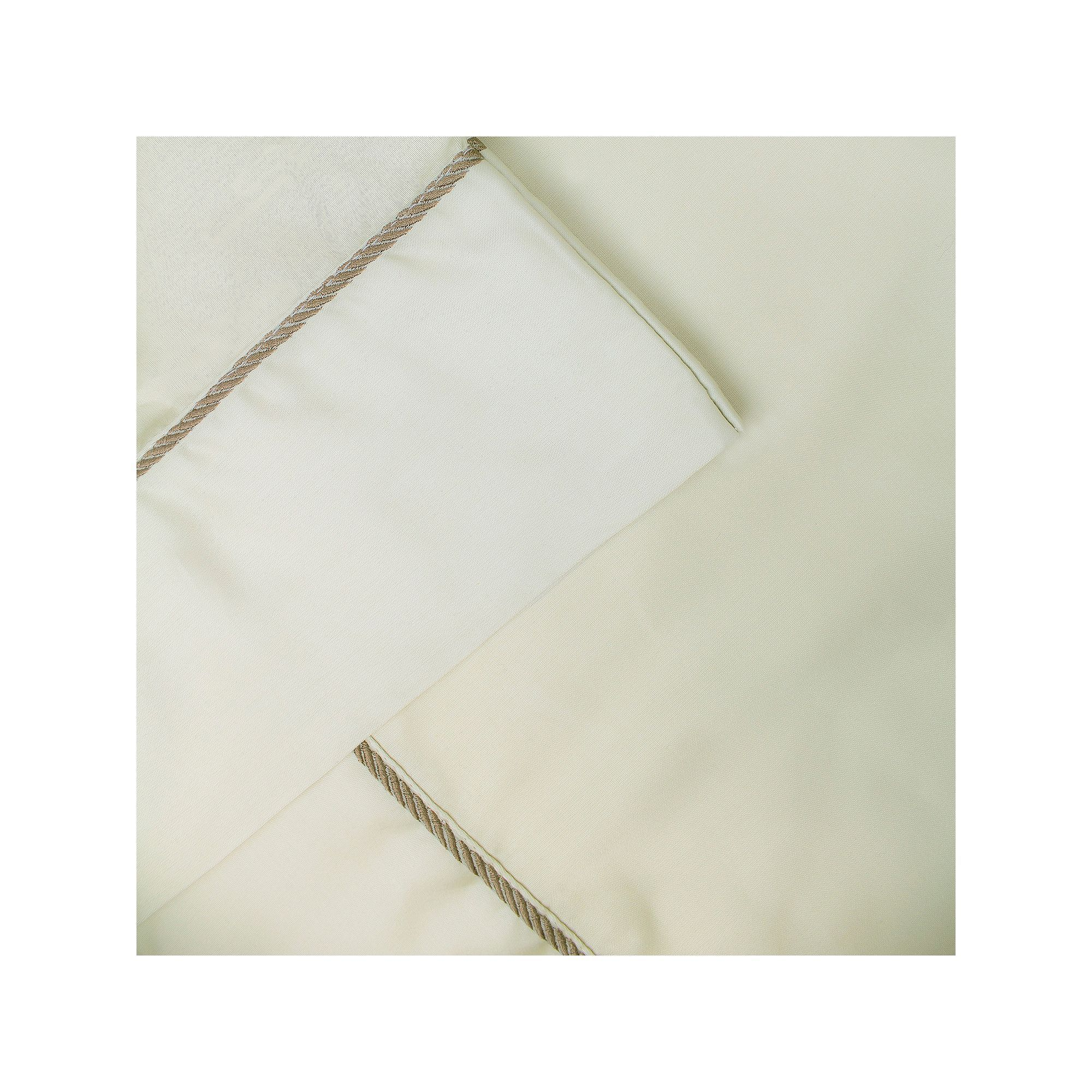 Rope hem thread count sheet set silver king count and products