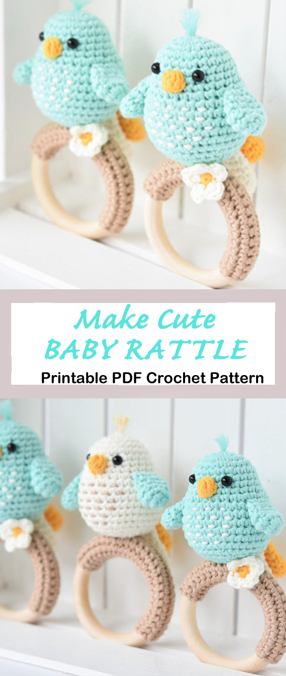 Make a Cute Baby Rattle
