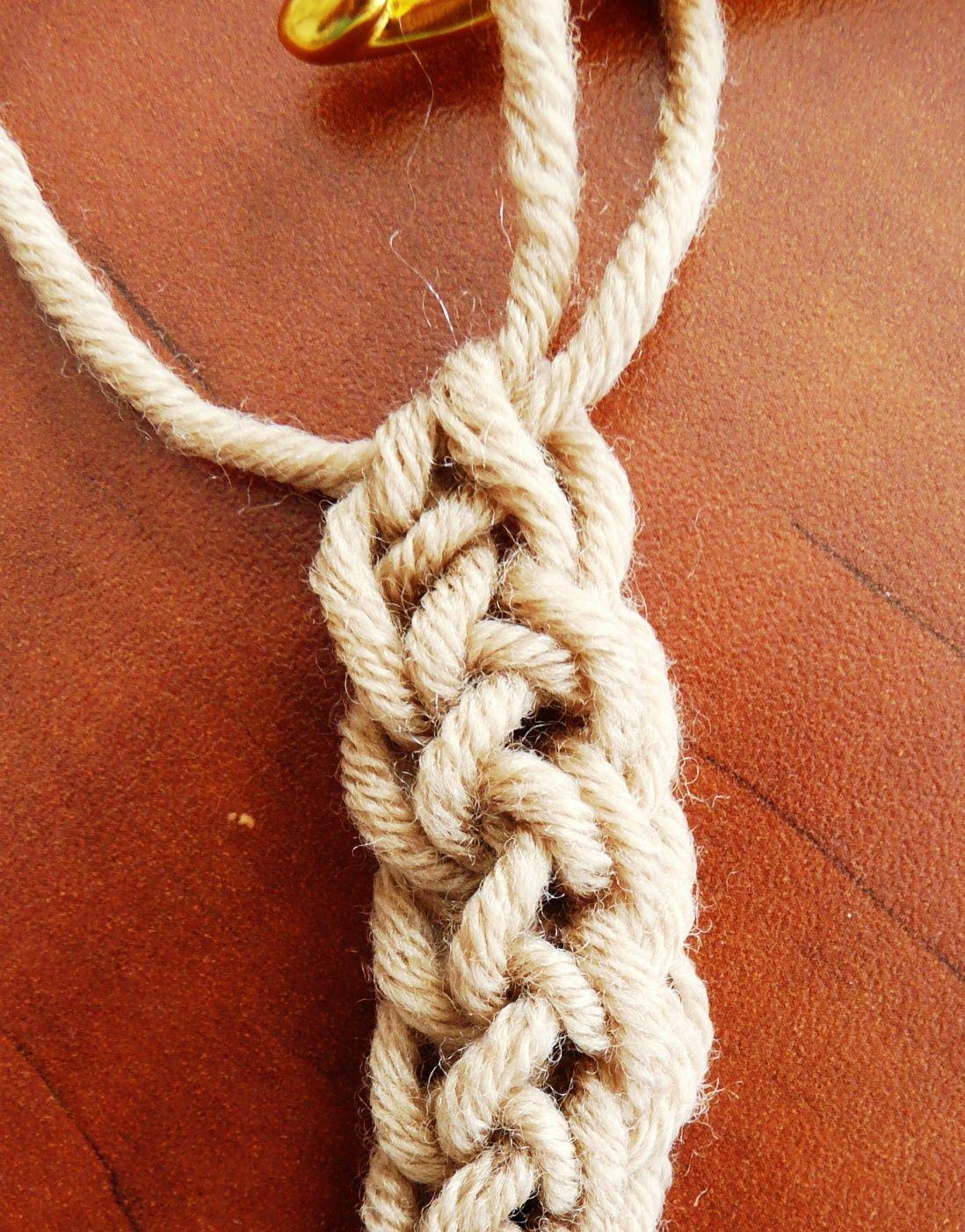 Foundation Single Crochet Fsc Tutorial Gives A Stretchy