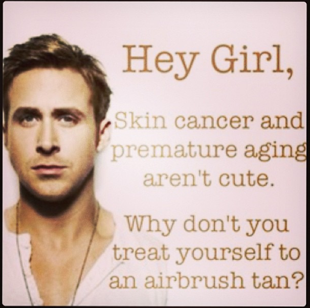 Well If Mr Gosling Say S So Protectyourskin Get Your Intimate Disposables From Vcovers Com Spray Tan Business Spray Tanning Quotes Mobile Spray Tanning