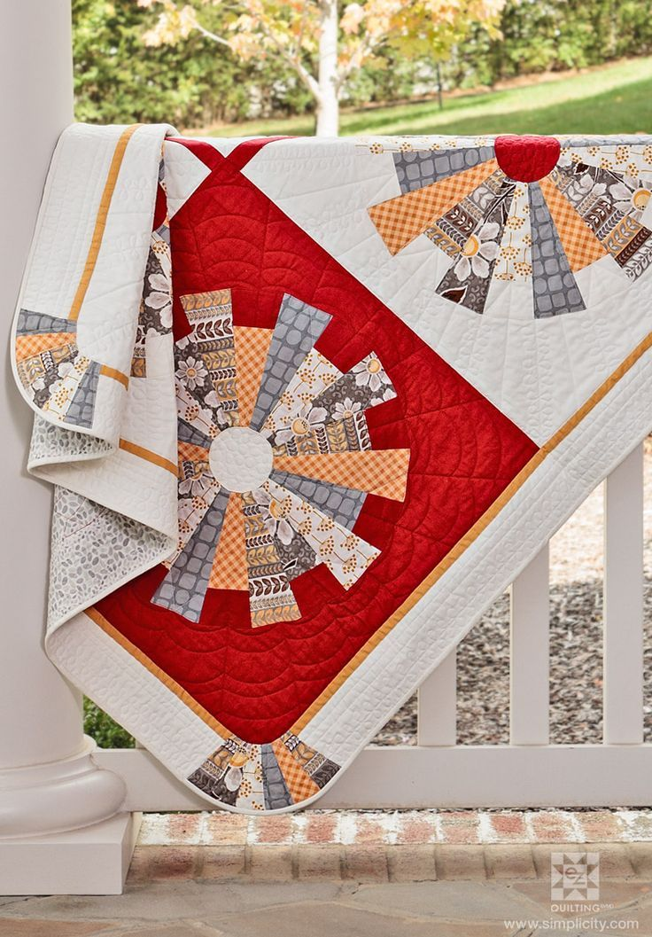 Beautiful Asymmetrical Quilt made by Nicki Allen  No pattern, just inspiration