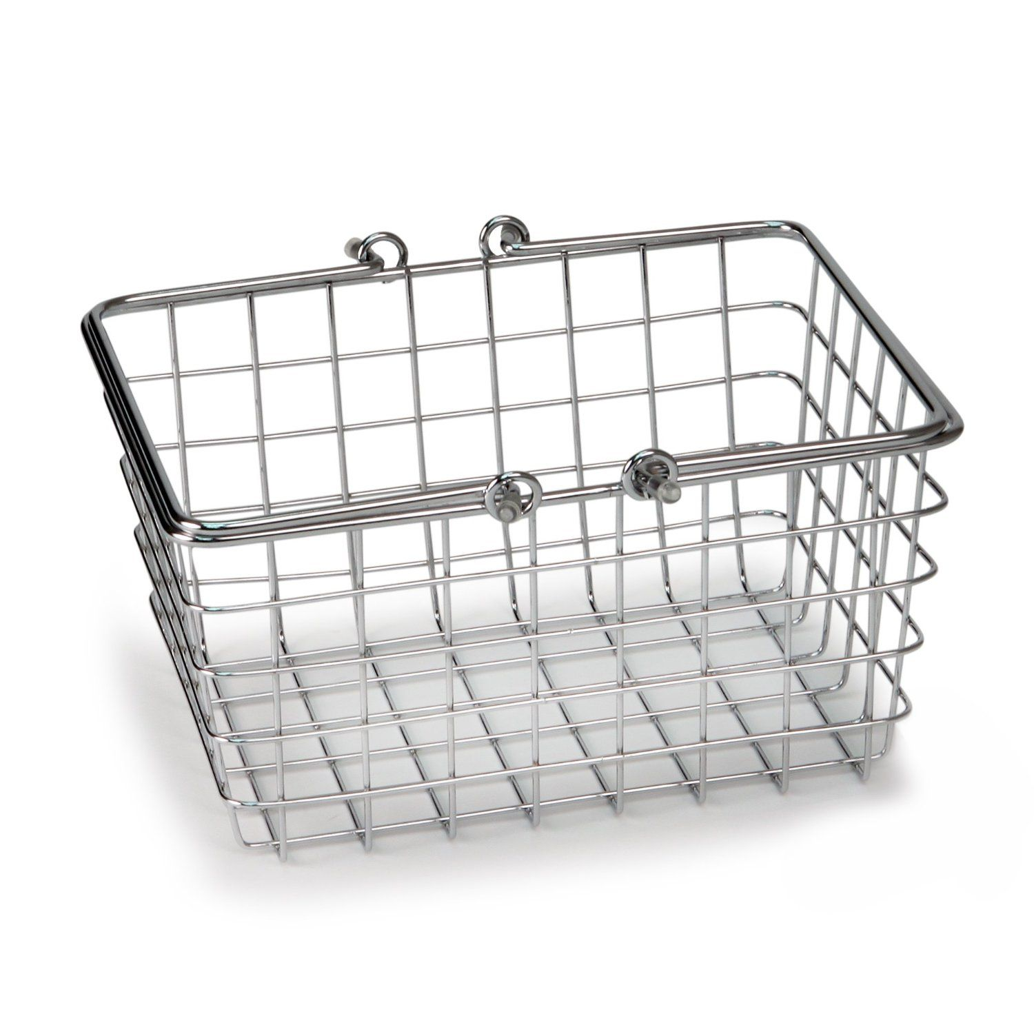 Wire Storage Baskets with Handles - I would love these for the ...