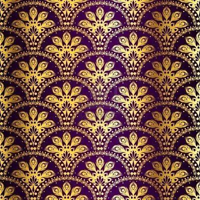 Gold Purple Purple Pattern Indian Patterns Purple Gold purple pattern background hd