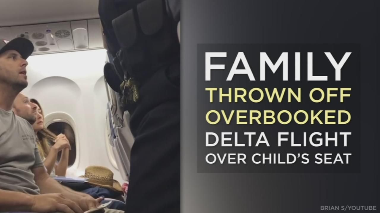Socal Family Thrown Off Overbooked Delta Flight Over Child S