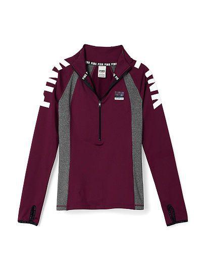Mock Neck Ultimate Deep Zip - PINK - Victoria's Secret - shirts ...