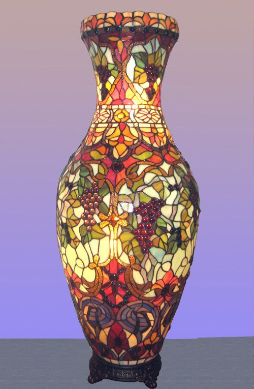 Online Get Cheap Stained Glass Vases Aliexpress Alibaba Group