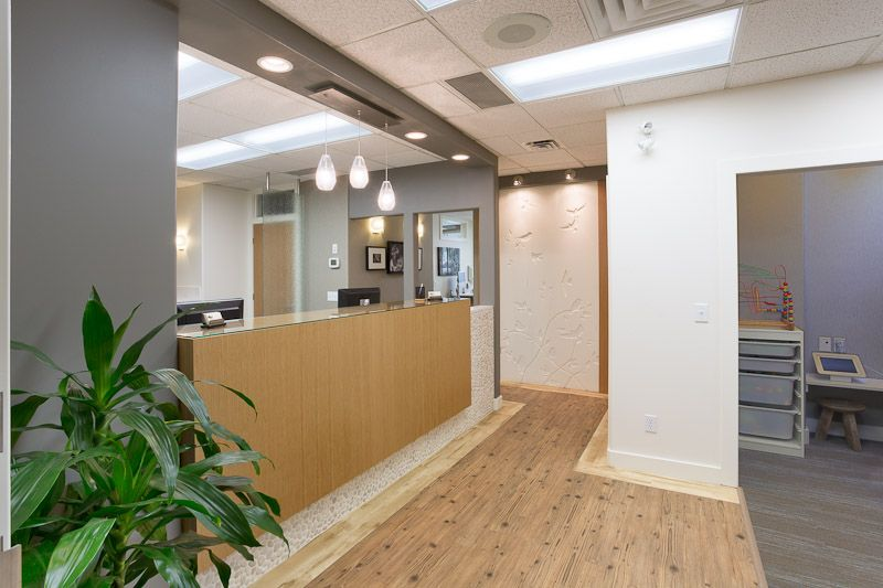 Dental clinic interior design by hatch interior design for for Dental clinic interior designs