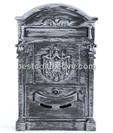 Die casting Aluminium mailbox Briefkasten Red XL (BHW02B) - China Mailbox;Letter;Mail box, OEM