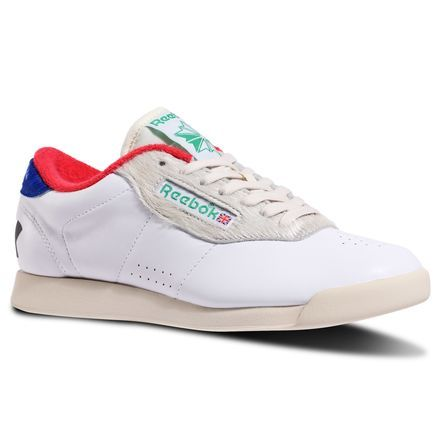 1cddcb9df48 Reebok x ME Princess Women s Fitness Shoes in White   Paper White   Primal  Red   Green   Blue