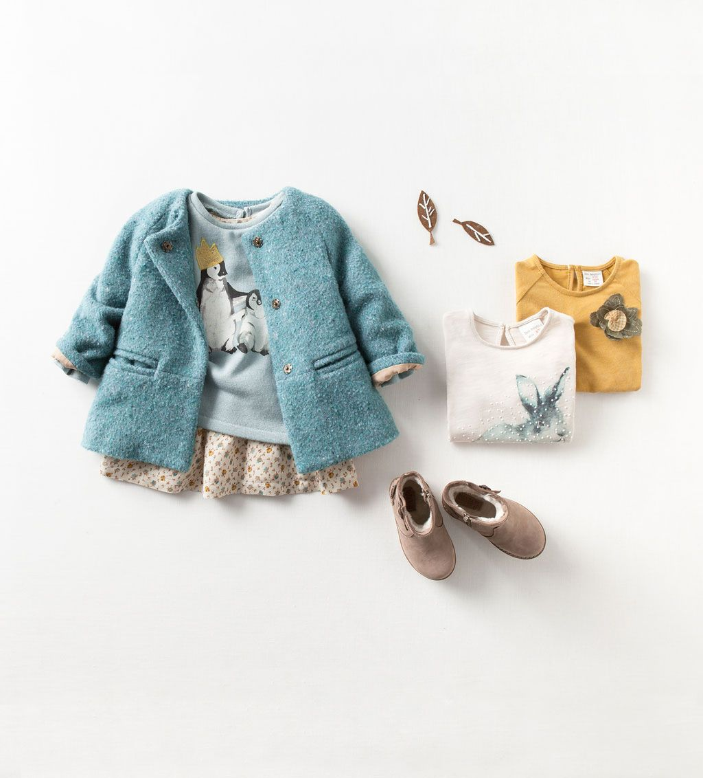 Zara baby hair accessories - Cozy Outfit For Baby Girl Perfect For Transition Into Fall Babygirl Babyoutfit