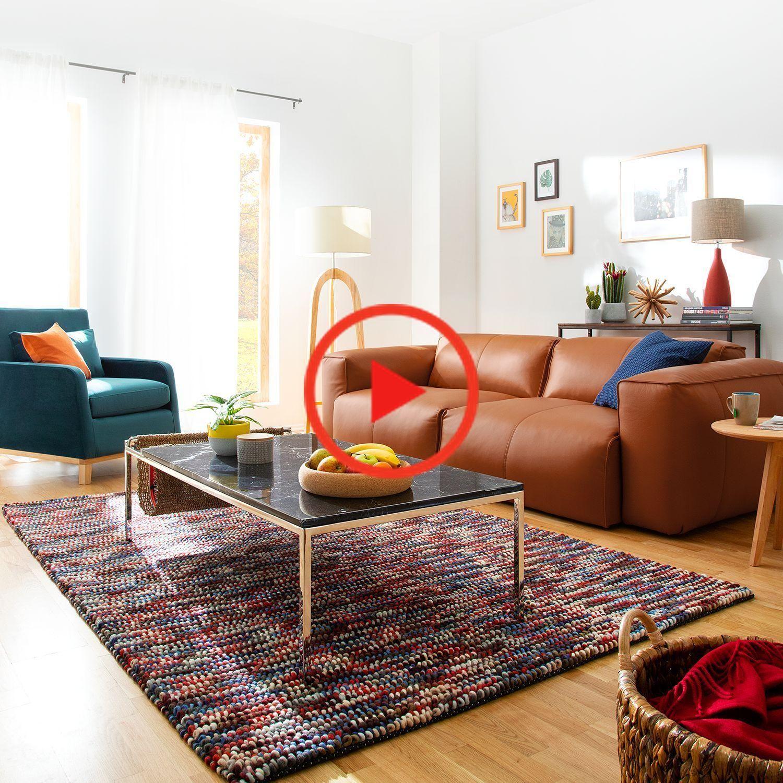 Sofa Hudson Ii 3 Seater Echtleder In 2020 Modern House Design Home Decor