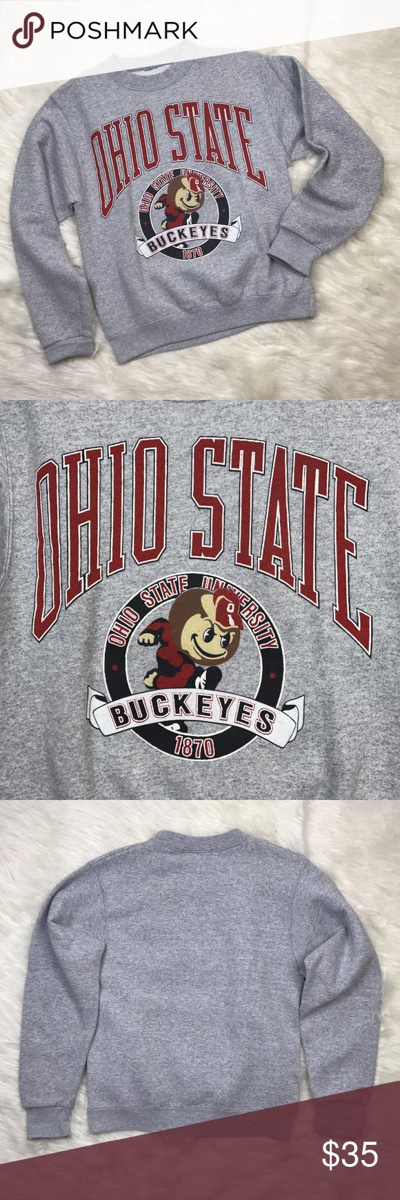 Vintage] Ohio State University OSU Sweatshirt Top | o st8 | Pinterest