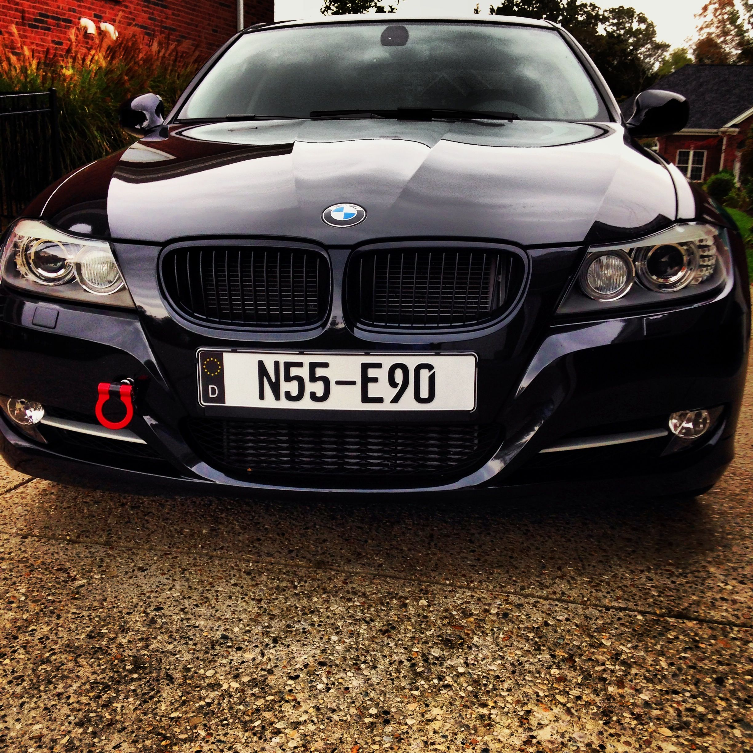 Bmw With Black German Decal Cars With Custom European