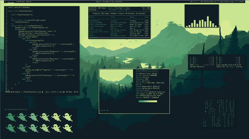 i3-gaps + polybar] Made the switch to i3 :) : unixporn