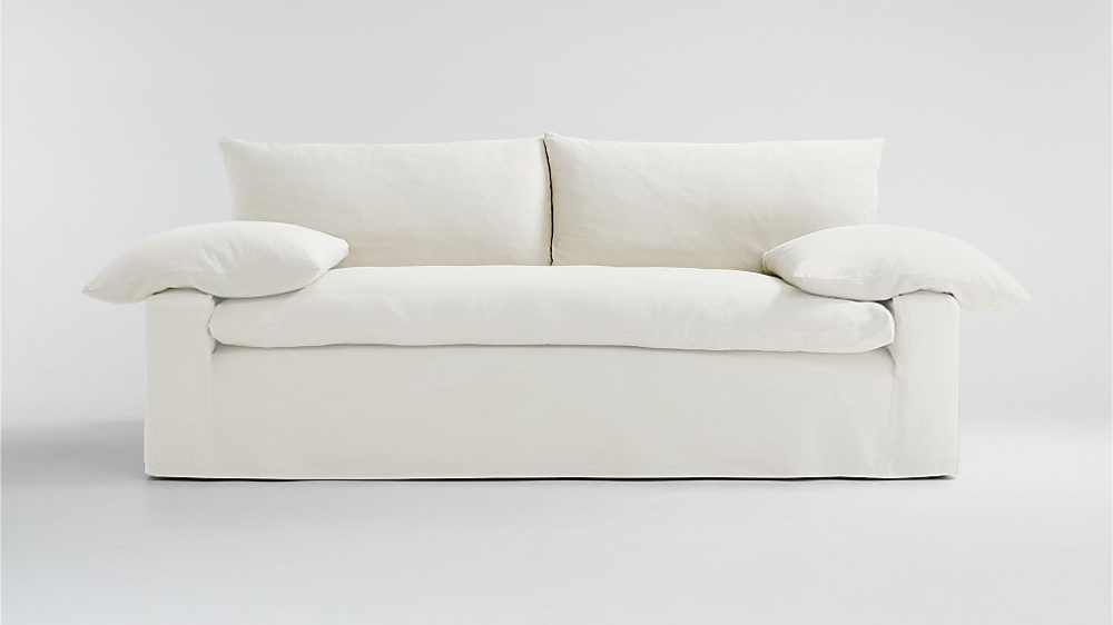 Ever Slipcovered Sofa Reviews Crate And Barrel In 2020