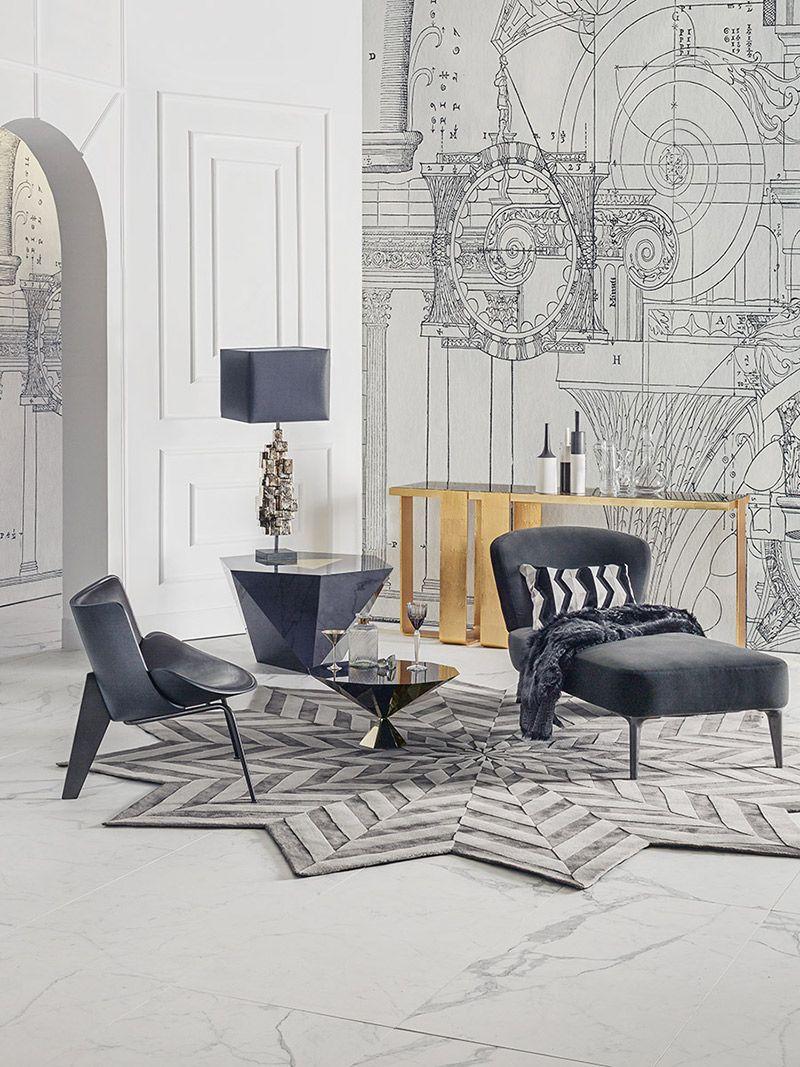 Black On White White Wall Decor Interior Decor