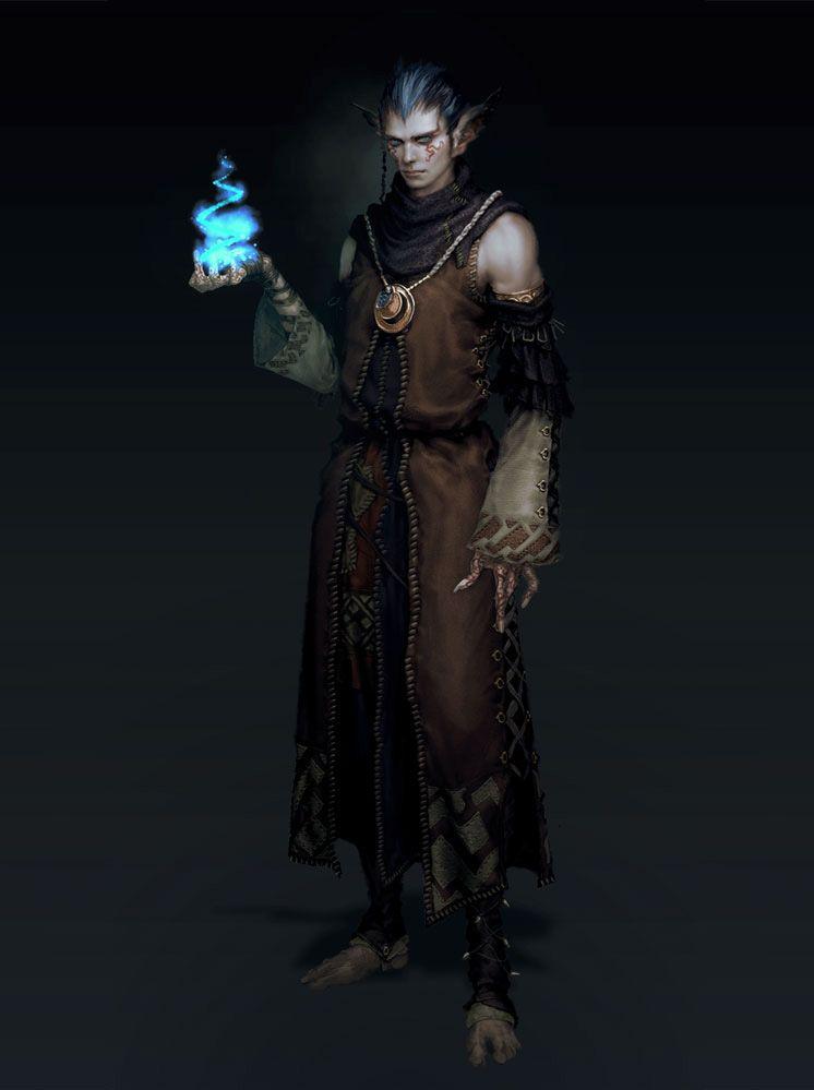 neverwinter character concept art - Google-Suche