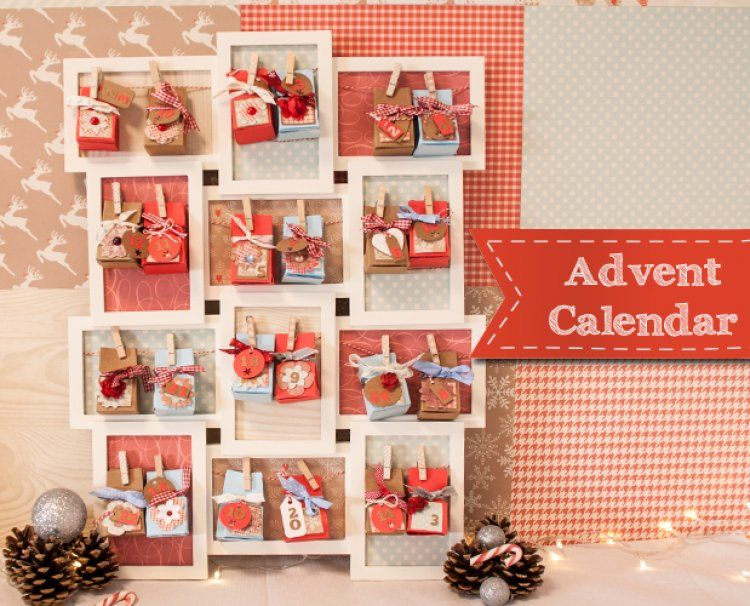Freebie Advent calendars, Template and Advent calenders