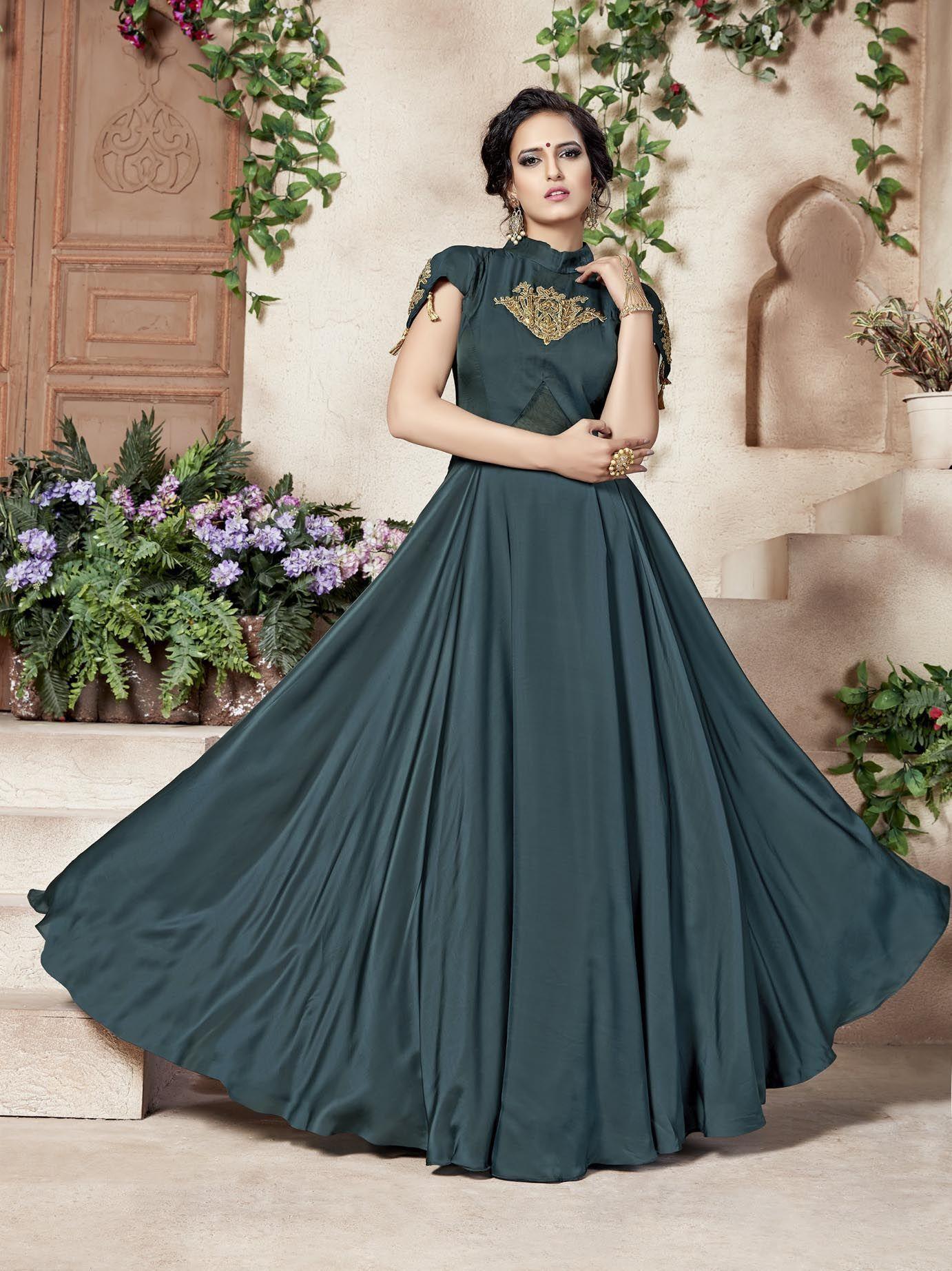 57d62c80b7  Coucap  Shopping Chalane Do This is Ethnic Gown For Womens Only On Coucap