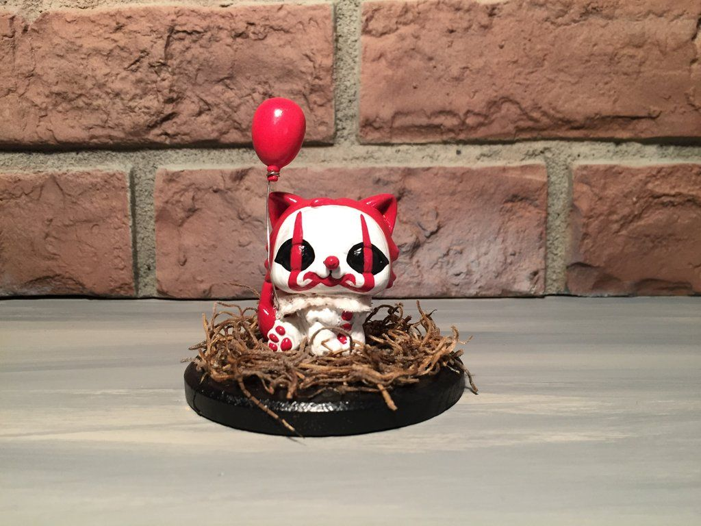 Lps Custom Kitty From It Pennywise Horror Kitty Lps Custom Toys Scary Art