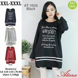 baju wanita ukuran jumbo AT1050 - Grosir Baju Muslim ...