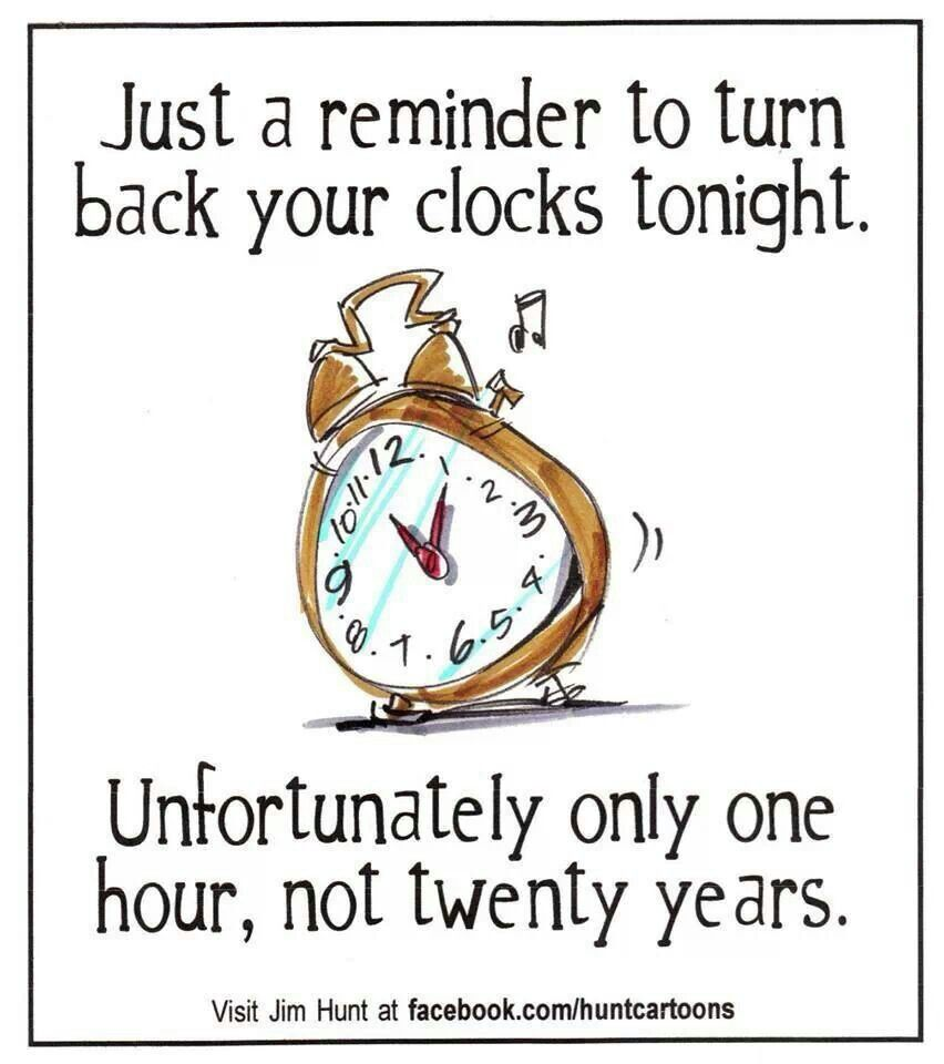 Turning Back Clock With Images Fall Back Time Change Spring