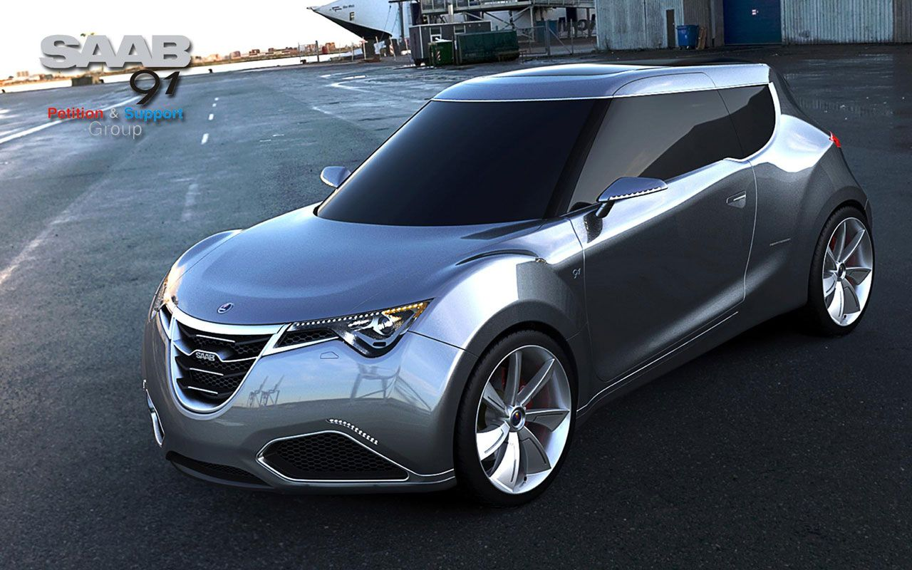 saab hot cars | Saab 91 is a concept with the help of which Saab is trying to get into ...