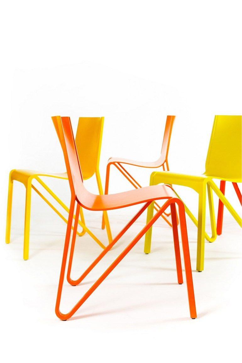 stackable #chair zesty@plycollection | #design o4i | chairs