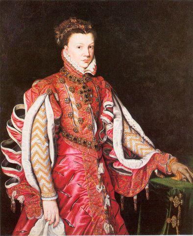 Queen Isabella de Valois of Spain, 3 esposa de Felipe II