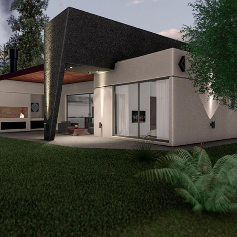 Moderna Vivienda Minimalista De Una Planta En Canning Wm Diseno Construccion Casas Modernas Disenos De Unas Casas