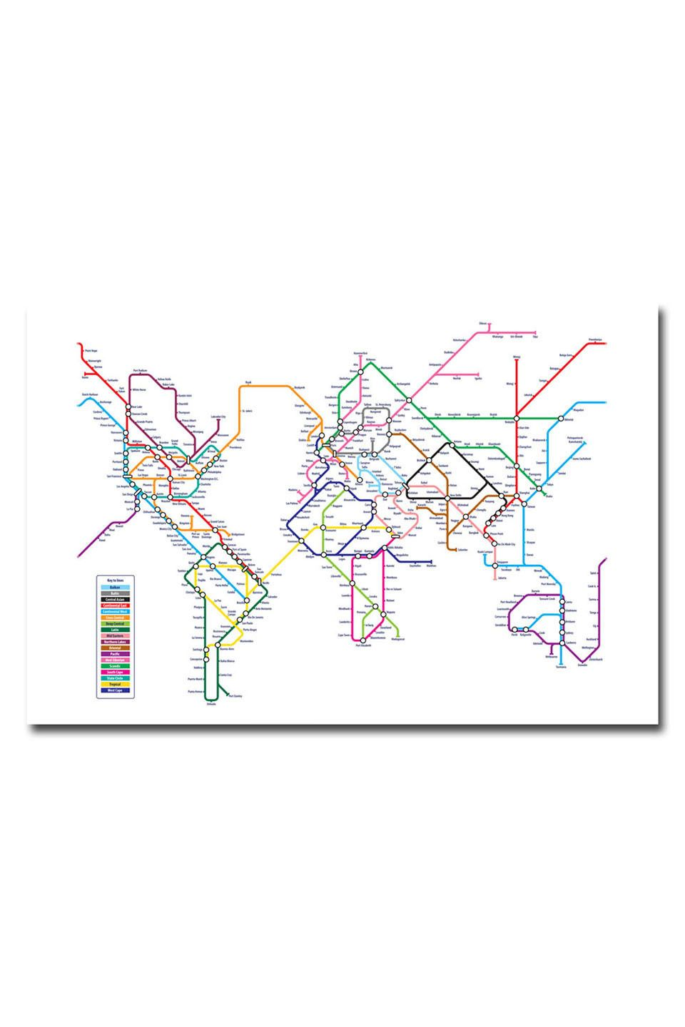 Nyc Subway Map Canvas Wall Art.I Loved This Item From Beyond The Rack And Thought You Would Too