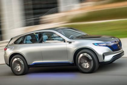 Mercedes Eq Electric Suv Side Tracking Used Cars Under 5000