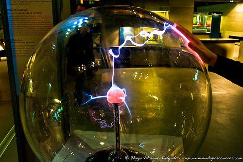 Bola de plasma II - Plasma ball II