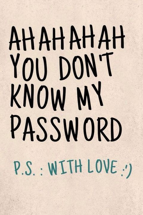 Wallpapers  - You don't know my password / dont touch my phone