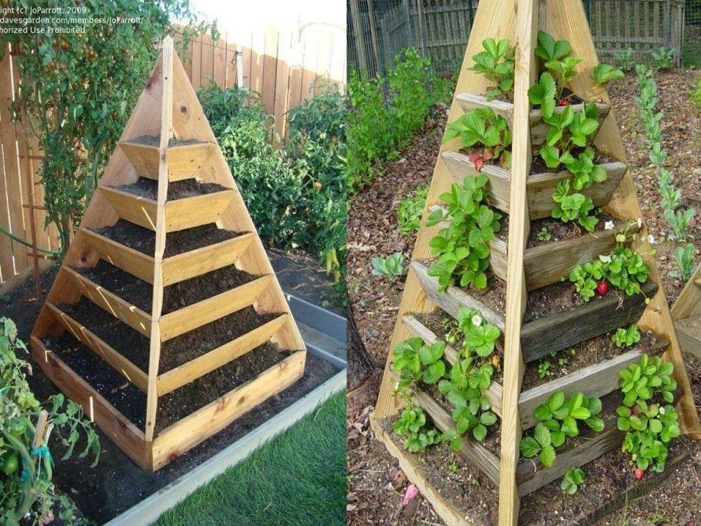 Ideas Para Cultivar Un Huerto En Casa Huerto En Casa Huerto Jardin De Vegetales