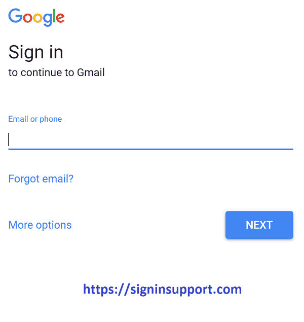 Gmail New Account Sign in : login with different user in