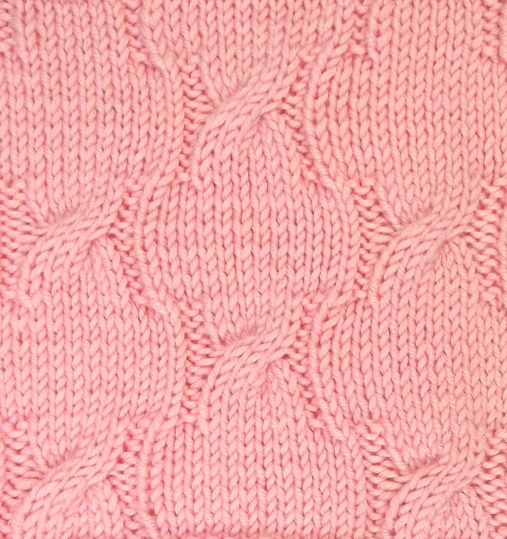 Petals is an allover cable pattern that would work great for your ...