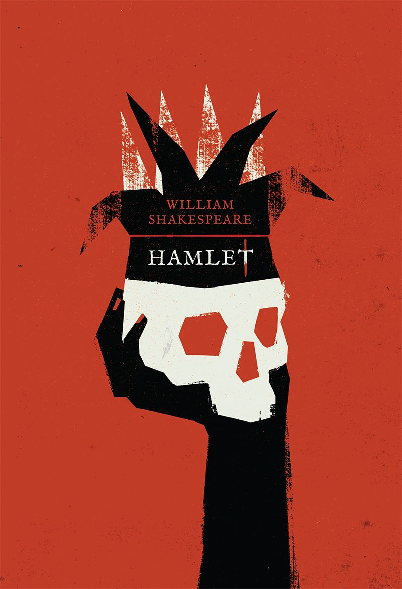 How To Make Book Cover Simple : Book cover for hamlet my works pinterest covers