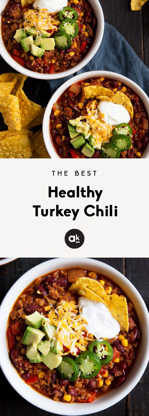 Seriously The Best Healthy Turkey Chili Recipe