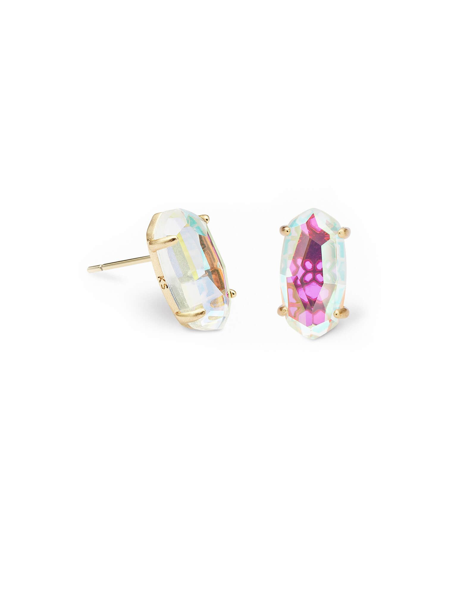 5bde51eade1c1 Get the Betty Gold Stud Earrings for an accessory with a stunning ...