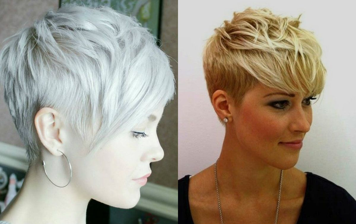Short Hairstyles 2017 Vibrant Layered Pixie Haircuts 2017