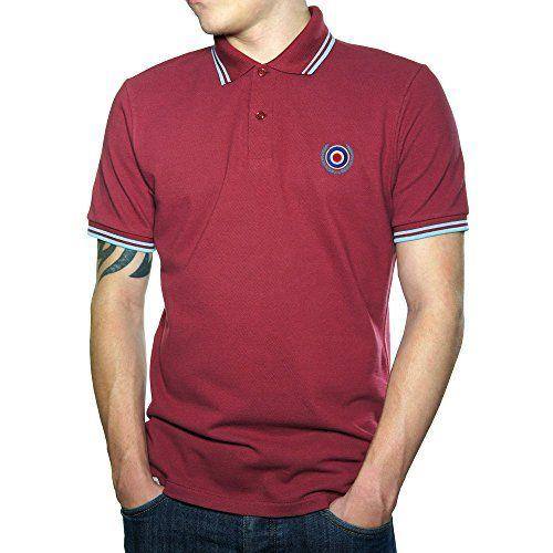 Mod Target Top Quality Embroidered Polo Shirt - Polo para Hombre. okpXO9rV