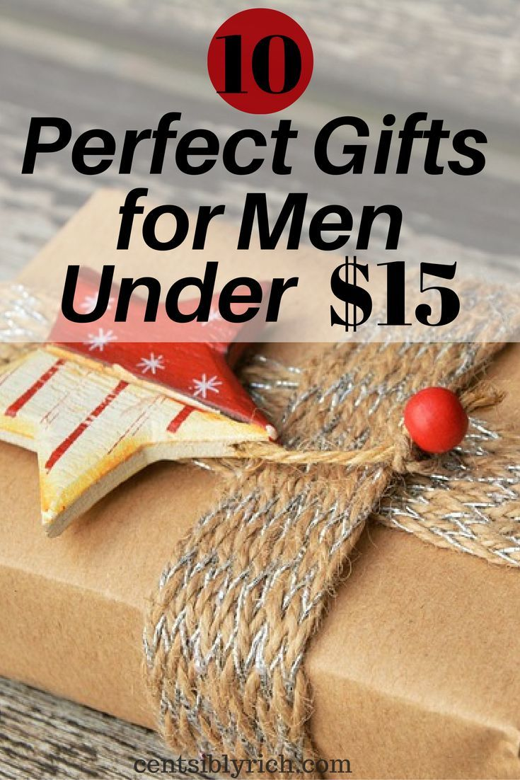 10 Perfect Gifts For Men Under 15 Christmas Gifts For