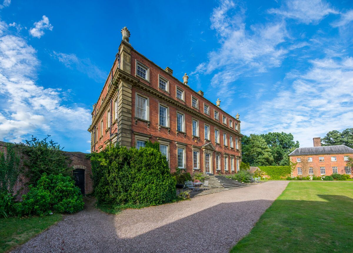 Davenport house is a unique wedding venue in shropshire with
