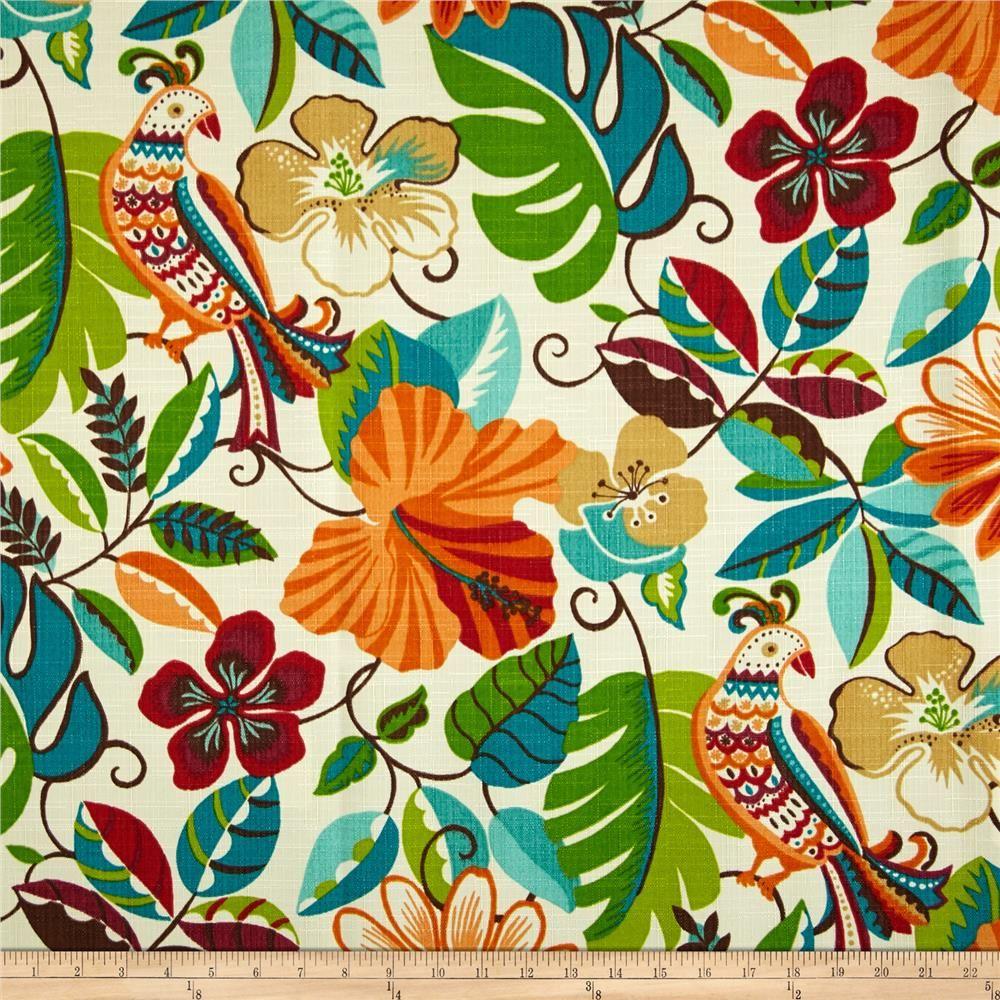 Richloom Indoor/Outdoor Lensing Jungle From @fabricdotcom From Richloom  Fabrics, This Great Indoor