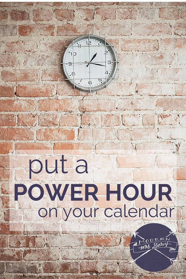 "I love the idea of a ""power hour."" Schedule 60 minutes each week to tackle those those small, mildly unpleasant tasks that are important but not urgent, and therefore, likely to not get done at all. And I've discovered a funny thing: taking the time out to learn new skills and master new tools is often—not always, but more than I expected—is saving me time in the long run."
